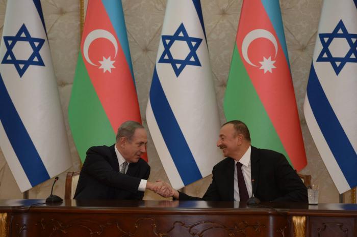illiam aliyev with netanyahu